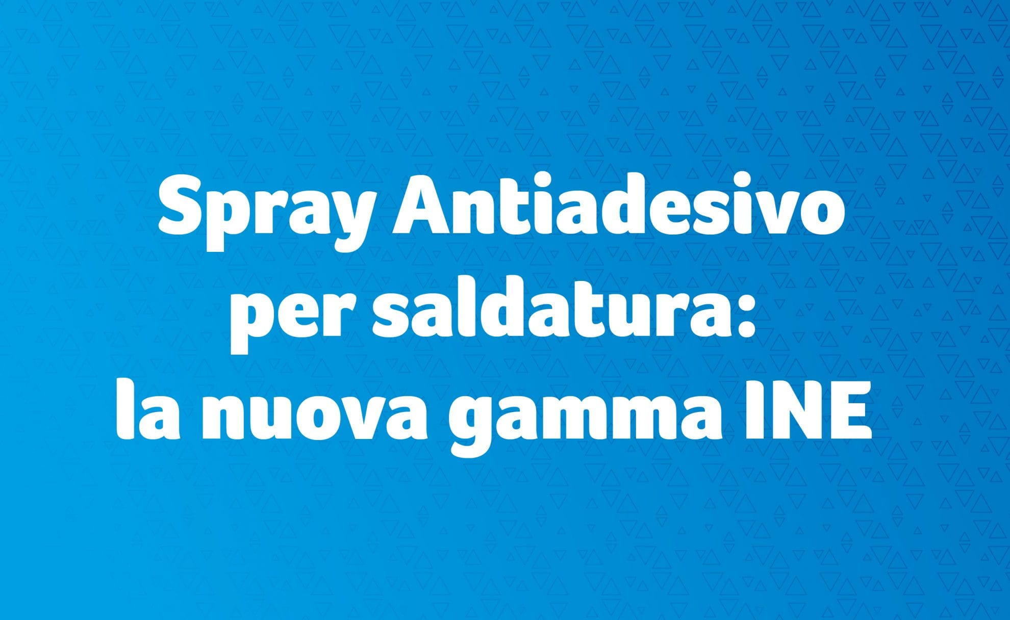 Spray antiadesivo per saldatura
